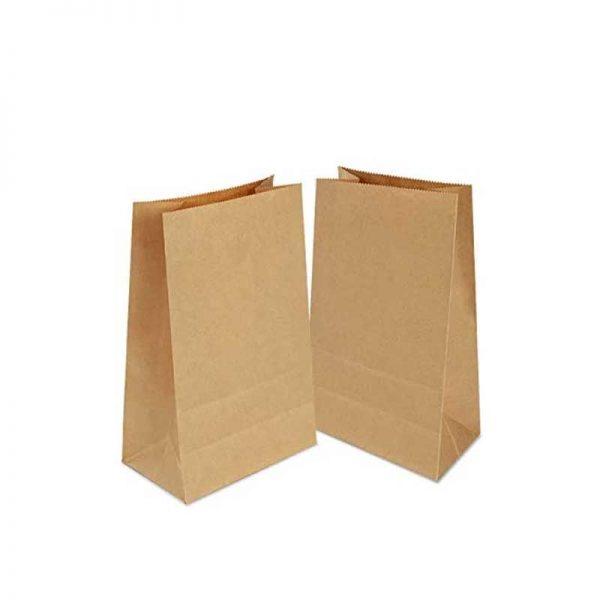 Bolsa de papel sin asa